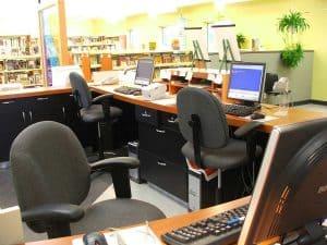 bibliothèque St-Étienne-des-grès